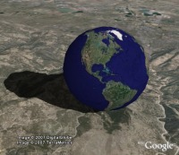 Bouncing Google Earth