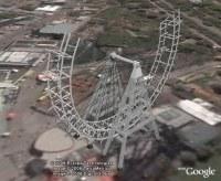 Ferris Wheel, 3d model animation in Google Earth