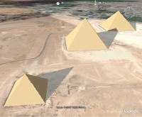 Giza Pyramids Sundial Animation