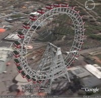 Vienna Ferris Wheel Animation for Google Earth