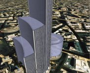 Willis Building model in Google Earth